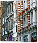 The Face Of London Canvas Print