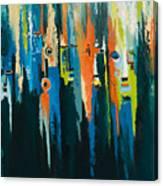 The Faces Canvas Print