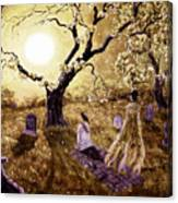 The Fading Memory Of Lenore Canvas Print