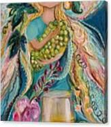 The Fairies Of Wine Series - Chardonnay Canvas Print