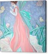 The Fairy Greeting Canvas Print