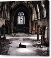 The Faithful Congregant Canvas Print