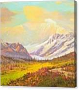 The Fall Colors Of Alaska Route 8 No.3 Canvas Print