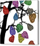 The Fall Of Hearts Canvas Print