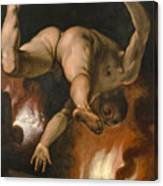 The Fall Of Ixion Canvas Print