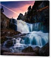 The Falls At Flatrock Canvas Print