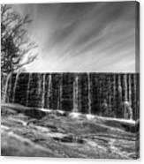 The Falls At Yates Mill II Canvas Print