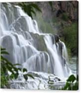 The Falls Of Fall Creek Canvas Print
