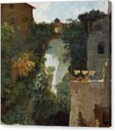 The Falls Of Tivoli Canvas Print