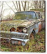The Family Ford Canvas Print