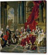 The Family Of Philip V Canvas Print