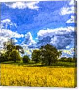 The Farm Art Canvas Print