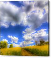 The Farm Art Vista Canvas Print
