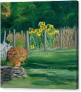 The Farm Gardens Canvas Print