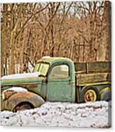 The Farm Truck Canvas Print