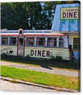 The Farmers Diner Canvas Print