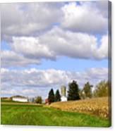 The Farmers Fields Canvas Print