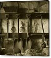 The Farmer's Toolshed Canvas Print
