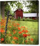 The Farmhouse Canvas Print