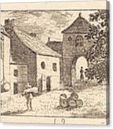 The Farmyard Canvas Print