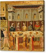 The Feast Of Herod And The Beheading Of The Baptist Canvas Print
