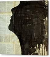 The Female Silhouette . Canvas Print