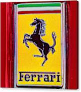 The Ferrari Logo Canvas Print