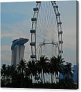 The Ferris Wheel 3 Canvas Print