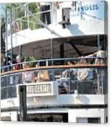 The Ferry Arrives Canvas Print