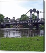 The Ferry Bridge Canvas Print