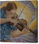 The Fiddler Canvas Print