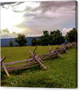 The Field Of Lost Shoes Canvas Print