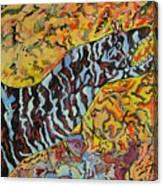 The Fierce Eel Canvas Print
