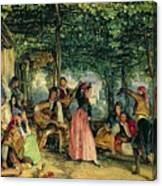 The Fiesta At Granada Canvas Print