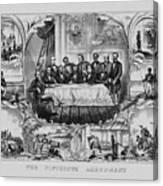 The Fifteenth Amendment  Canvas Print