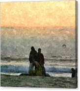 The Final Sunset Canvas Print