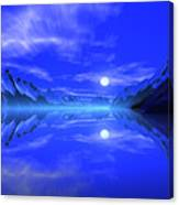 The Fiords Of Thor. Canvas Print