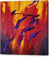 The Fire Of Life Canvas Print