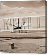 The First To Fly Canvas Print