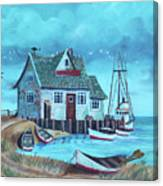 The Fish House Canvas Print