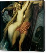The Fisherman And The Syren Canvas Print