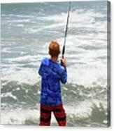The Fisherman Canvas Print