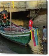 The Fisherman's Kids Canvas Print