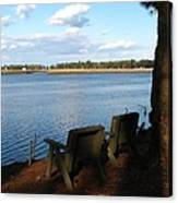 The Fishing Spot Canvas Print