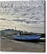 The Fixer-upper, Brancaster Staithe Canvas Print