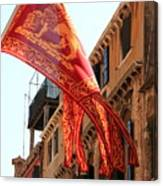 The Flag Of Venice Canvas Print