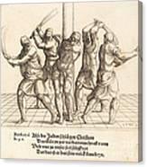 The Flagellation Canvas Print