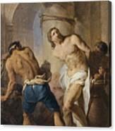 The Flagellation Of Christ Canvas Print