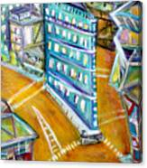 The Flat Iron Canvas Print