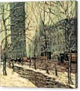 The Flatiron Building 2 Canvas Print